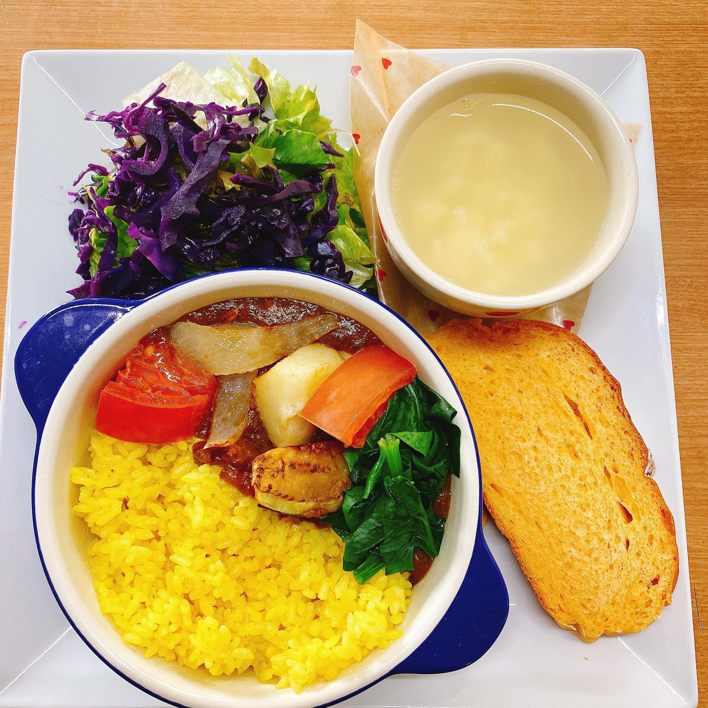 お野菜ゴロゴロお野菜カレー